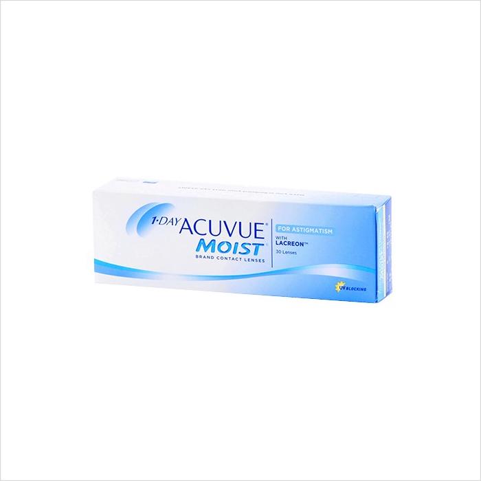 Acuvue 1 Day Moist Astig 30 Pack